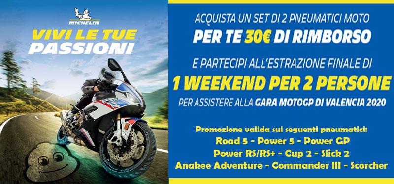Banner Promo Michelin Moto 2020